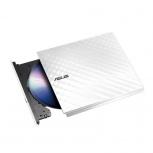 ASUS SDRW-08D2S-U Quemador de CD/DVD, DVD-R 8x / CD-R 24x, USB 2.0, Externo, Blanco