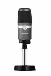 AVerMedia Micrófono AM310, Alámbrico, Negro/Plata
