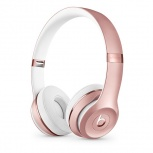 Beats by Dr. Dre Audífonos Beats Solo3 Wireless, Bluetooth, Oro Rosa