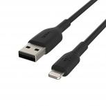 Belkin Cable de Carga Boost↑Charge Certificado MFi Lightning Macho - USB A Macho, 15cm, Negro, para iPod/iPhone/iPad