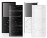 Belkin Paquete de 2 Fundas de Silicon para iPod Nano, Negro/Blanco