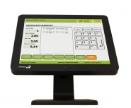 Bematech LE1015-J LCD TouchScreen 15'', Negro