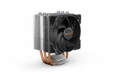 Disipador CPU be quiet! Pure Rock Slim 2, 92mm, 2000RPM, Plata