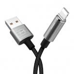 Binden Cable de Carga para iPhone, 1.8 Metros, Gris