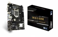 Tarjeta Madre Biostar Micro ATX H310MHP, S-1151, Intel H310, HDMI, 32GB DDR4 para Intel ― Compatibles solo con 8va y/o  9va Generación (Revisar modelos aplicables)