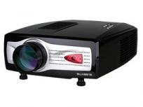 Proyector Blusens PJ52 LCD, TV HDMI, VGA 640 x 480, 1800 Lúmenes, Blanco/Plata