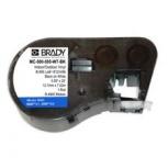 Cinta de Vinilo Brady MC-500-595-WT-BK, 1.27cm x 7.62m, Negro