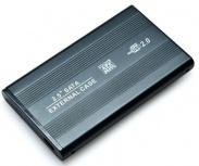 BRobotix Gabinete de Disco Duro 001642 2.5'', SATA, Negro