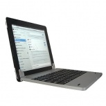 BRobotix Teclado con PowerBank para iPad, Bluetooth, Azul (Español)