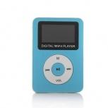 BRobotix Lector Micro SD y Reproductor MP3 con Pantalla y Bocina, USB 2.0, Azul