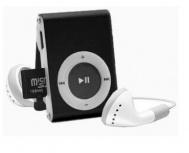 BRobotix Lector MicroSD y Reproductor MP3, USB 2.0, Negro