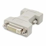 BRobotix Adaptador DVI-D Macho - VGA Hembra, Gris