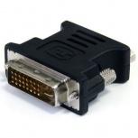 BRobotix Adaptador DVI-I Macho - VGA Hembra, Negro