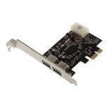 BRobotix Tarjeta PCI Express 115210, Alámbrico, 2x USB 3.0