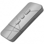BRobotix Lector MicroSD y Reproductor MP3, Plata