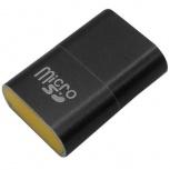 BRobotix Lector de Memoria 170188N, MicroSD, USB 2.0, Negro