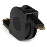 BRobotix Cable 201135 HDMI Masculino - HDMI Masculino, 1.5 Metros, Negro