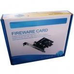BRobotix Tarjeta PCI Express 204100, Alámbrico, 4x IEEE 1394/Firewire