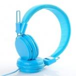 BRobotix Audífonos Colorful Style EX09, Alámbrico, Azul