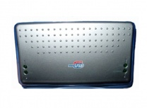 BRobotix Lector de Memoria 300155, MicroSD/SD/MMC, USB, Negro/Plata