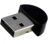 BRobotix Mini Adaptador de Red USB 531233, Bluetooth 2.0, Negro