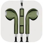 BRobotix Audífonos Intrauriculares con Micrófono 611242, Alámbrico, 1.1 Metros, 3.5mm, Oxford Metálico