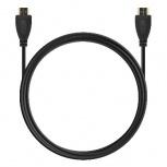 BRobotix Cable HDMI Macho - HDMI Macho, 2 Metros, Negro