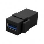 BRobotix Adaptador USB Hembra - USB Hembra