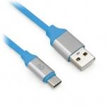 BRobotix Cable USB Macho - USB-C Macho, 1 Metro, Azul