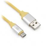 BRobotix Cable USB Macho - USB-C Macho, 1 Metro, Amarillo