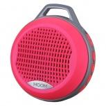 BRobotix Bocina Bluetooth con Árnes/Radio/Lector, 3W RMS, Rosa