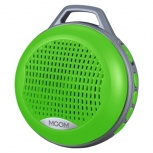 BRobotix Bocina Bluetooth con Árnes/Radio/Lector, 3W RMS, Verde