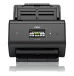 Scanner Brother ADS-2800W, 600 x 600DPI, Escáner Color, USB 2.0, Negro