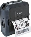 Brother RJ-4040 Impresora de Tickets, Térmica Directa, 203 x 200DPI, USB, Serial, WiFi, Negro