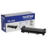 Tóner Brother TN760 Negro, 3000 Páginas