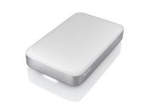 Disco Duro Externo Buffalo MiniStation Thunderbolt, 2TB, USB B 3.2, Plata/Blanco