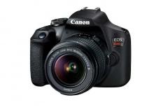 Cámara Réflex Canon EOS Rebel T7, 24.1MP, Cuerpo + Lente 18-55mm f/3.5-5.6