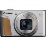 Cámara Digital Canon PowerShot SX740 HS, 20.3MP, Zoom Óptico 40x, Plata