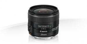 Canon Lente para Cámara EF, 24mm f/2.8, para Cámaras Canon