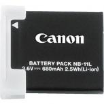 Canon Batería para Cámara Digital NB-11L, 3.6V, 680mAh, para Canon IXUS 125HS