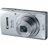 Cámara Digital Canon PowerShot ELPH 135, 16MP, Zoom óptico 8x, Plata