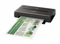 Impresora Fotográfica Canon PIXMA iP110, Inyección, 9600 x 2400 DPI, Inalámbrico, Negro