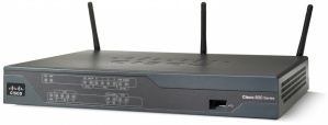 Router Cisco Fast Ethernet 881, Inalámbrico, 1x USB, 300 Mbit/s, con 3 Antenas