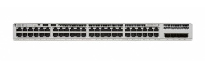 Switch Cisco Gigabit Ethernet Catalyst C9200L Network Advantage, 48 Puertos Data + 4x1G Uplink, 104 Gbit/s, 16.000 Entradas - No Administrable