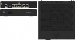 Router Cisco 921 Servicios Integrados, 2x Gigabit Ethernet WAN, 4x Gigabit Ethernet Administrables