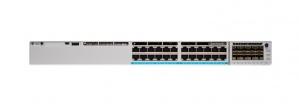 Switch Cisco Gigabit Ethernet Catalyst 9300 Network Advantage, 24 Puertos 10/100/1000Mbps, 32.000 Entradas - Gestionado ― ¡Requiere licencia de DNA para su funcionamiento, consulte a su ejecutivo!