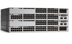 Switch Cisco Gigabit Ethernet Catalyst 9300 Network Advantage, 48 Puertos 10/100/1000Mbps, 256 Gbit/s, 32.000 Entradas - Gestionado ― ¡Requiere licencia de DNA para su funcionamiento, consulte a su ejecutivo!