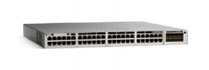 Switch Cisco Catalyst C9300-48UXM-E, 48 Puertos PoE, 580 Gbit/s, 32.000 Entrada - Gestionado ― ¡Requiere licencia de DNA para su funcionamiento, consulte a su ejecutivo!