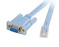 Cisco Cable Patch RJ45 - DB9F, 1.8 Metros, Gris