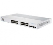 Switch Cisco Gigabit Ethernet Business 250, 24 Puertos 10/100/1000Mbps + 4 Puertos SFP,  8.000 Entradas - Gestionado